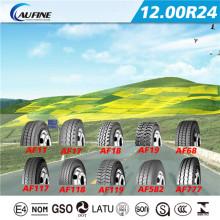 Todo o pneu de caminhão radial de aço (12.00R24 com GCC)