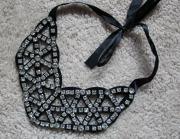 Ladies Fashion Acrylic Diamond Jewelry Collar Necklace