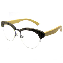 Attractive Design Fashion Wooden Sunglasses (SZ5686-4)