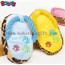 """5.2 """"Plüsch gefüllte Pantoffel Haustier Spielzeug mit Squeaker in 3 Farben BOSW1079 / 13CM"""