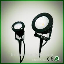 Lumière de jardin à LED haute lumière haute lumière extérieure