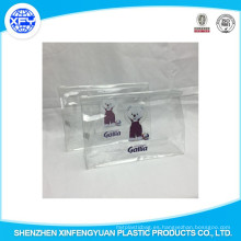 Venta al por mayor de PVC Ziplock reciclado bolsa de plástico