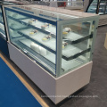 fridge door display bakery shelf glass cake showcase
