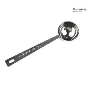 15ml Stainless Steel Coffee Spoon Condiment Scoop Dessert Ladle