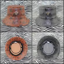 Мода Новый стиль Эра кожаная шапка