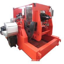 Machine de coulée par gravité pour moules métalliques inclinables