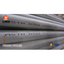 Acero inoxidable dúplex tubo ASTM A789 S32205