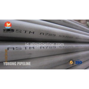 Dupleks Stainless Steel Tube ASTM A789 S32205