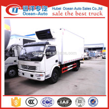 China caminhões fabricante 5ton caminhão refrigerador na África do Sul