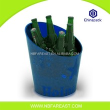 Promotion custom unique plastic ice bucket produce