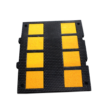 High Impact Resistance Rubber Driveway Safety Speed Bump for Car Parking