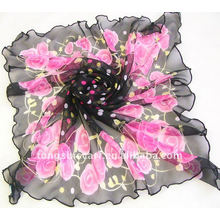 2013 мода печатные прозрачный шарф