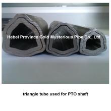 Fabricante de tubo / tubo de acero sin costura triangular