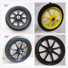 Rodas de plástico, rodas de plástico de carrinho