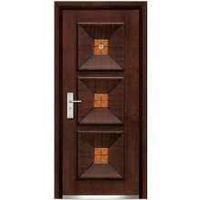 steel wooden doors