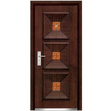 steel wooden doors