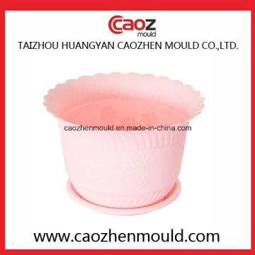 Flower Pot Injection Mold com 2016 Novo Design
