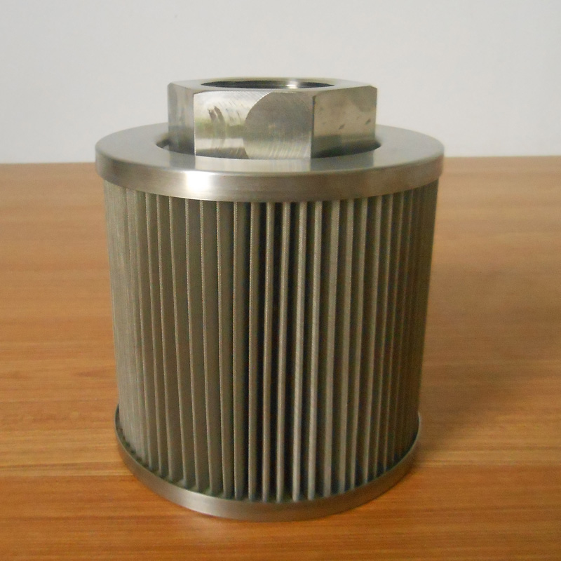 stainless steel suction filter