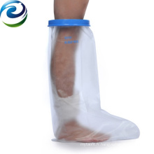 Easy Operating Newest Design Elastic Waterproof Cast & Dressing Short Leg Protector