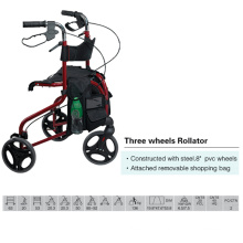 Three Wheels Rollator