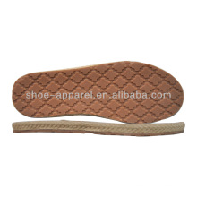 Cheap ramie Shoes Sole fabricantes atacado Sola de borracha