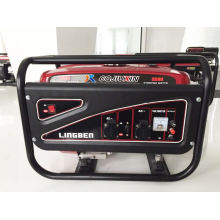Generador de la gasolina de la alta calidad, 220V, alambre de cobre 100%, monofásico