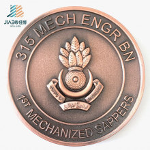 Поставка 70мм логотип проблемой Воиска металла монета для сувенир