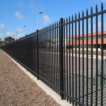 Heave duty garrison fencing