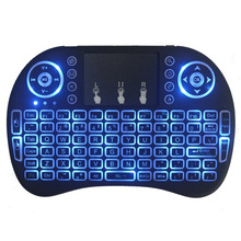 Cool Design I8 2.4G Wireless Mini Keyboard For Android Devices With Touchpad Up To 10 Meters