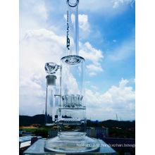 Hotting Vendendo Showerhead inline Percolator fumar tubo de vidro