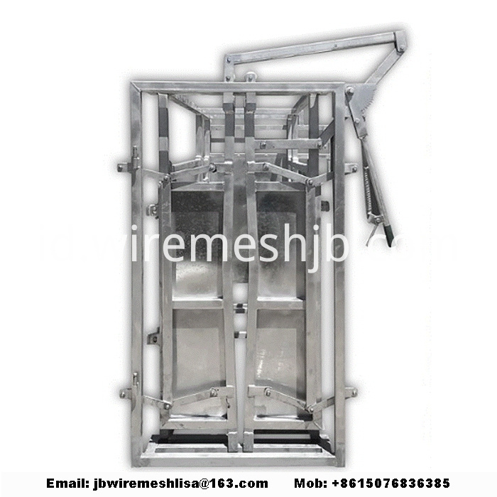 Heavy Duty Galvanized Cattle Crush