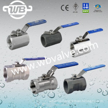 Stainless Steel Female Thread 1-PC Ball Valve with CE
