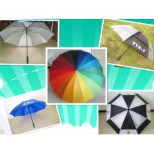 Открытый зонтик гольфа с Ультрафиолетов сопротивление