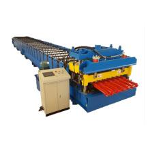 Rollo de teja metálica que forma la máquina