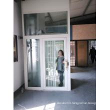 HOME hydraulic lift, hydraulic lift, GLASS HOUSE
