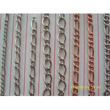 El surtidor de China hace la cadena de calidad superior del bolso del metal para los accesorios de la manera