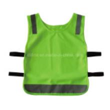 En471 Estándar Buena Calidad Diseño personalizado Chaleco de seguridad para niños