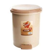 Пластмассовая круглодонная корзина для мусора (YW0085)