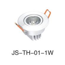 Lâmpada embutida LED de teto3w, 5W, 7W