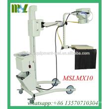 MSLMX10-M Meistverkaufte 30mA Mobile Röntgengerät Mobiles digitales Röntgengerät