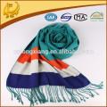 Kundenspezifisches Design reales Material Geschäft Viskose Schal Schal Hijab Ebene Viskose