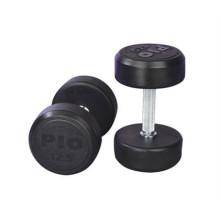 Fixed Black Rubber Hantel Rubber Hantel Fitnessgeräte