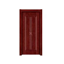 Porta de madeira interior da porta de madeira contínua do quarto da porta (RW035)
