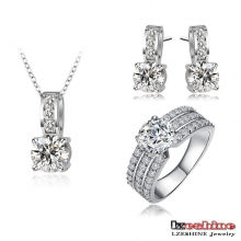 Pendant Earrings Ring Sets Bijour (CST0022-B)