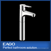 Chrome Brass High Lavatory Faucet (PL130B-66E)