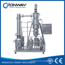Tfe High Efficient Agitated Thin Film Distiller Vacuum Distillation Equipment Mini Rotary Evaporator to Recycle Used Used Oil