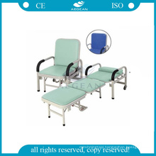 AG-AC001 Best selling steel frame used hospital accompany chair