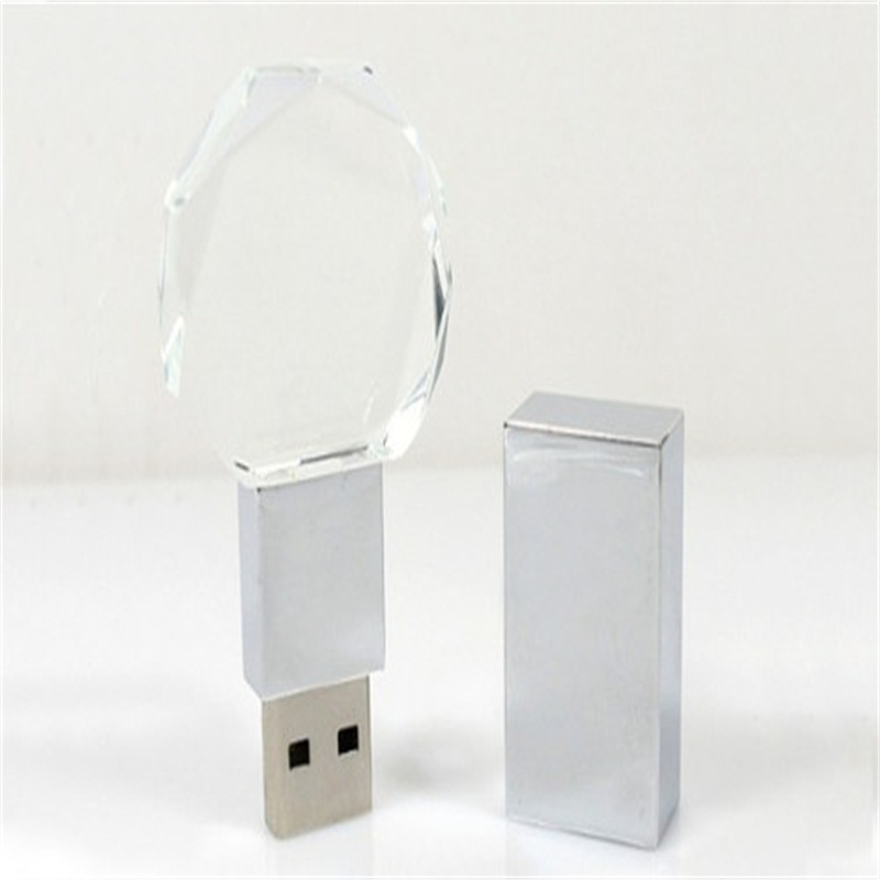 Crystal Usb Flash Drive