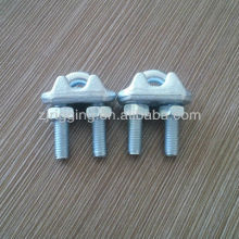 drop forged carbon steel wire rope clip itanlian type