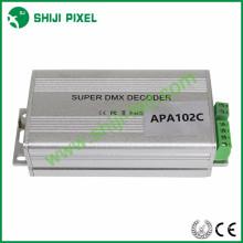 O codificador do endereço DMX512, controlador de cartão de DC5V SD, conduziu o decodificador de DMX